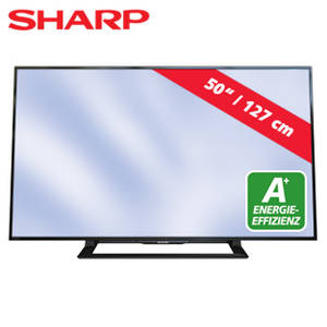 sharp lc 50ld270e 50 zoll fullhd led tv fernseher im angebot bei real kw 30 ab 20. Black Bedroom Furniture Sets. Home Design Ideas