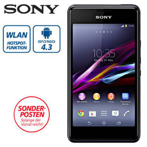 Sony Xperia E1 Smartphone im Angebot bei Real [KW 30 ab 20.7.2015]