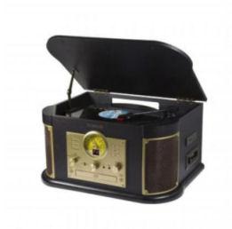 Technaxx TX-103 Nostalgie-Bluetooth-Schallplatten-CD-Kassetten-Digitalisierer