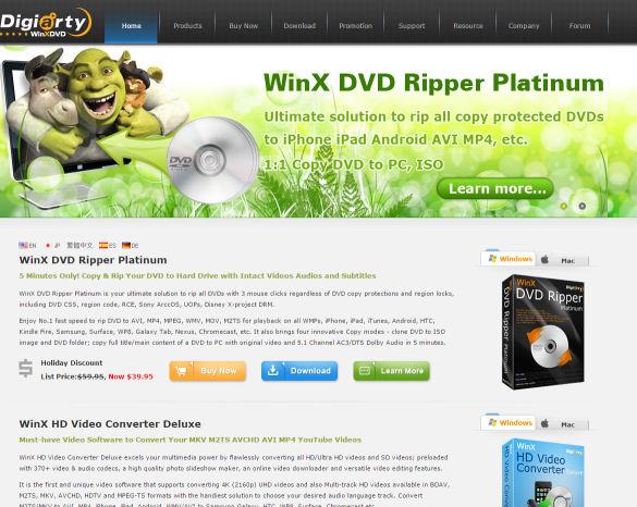 Software-Tipp: WinX Free YouTube Downloader + WinX HD Video Converter Deluxe