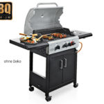 Aldi Süd 23.4.2018: BBQ Premium Gasgrill Boston Pro 3K Turbo im Angebot
