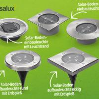 Hofer: Casalux LED-Solar-Bodenleuchte im Angebot ab 26.4.2018