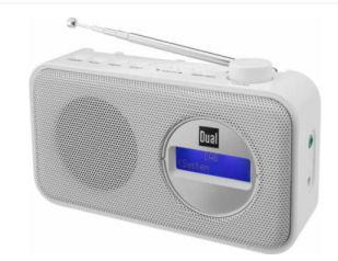 Real: Dual DAB 84 Portables DAB+ und UKW-Radio im Angebot