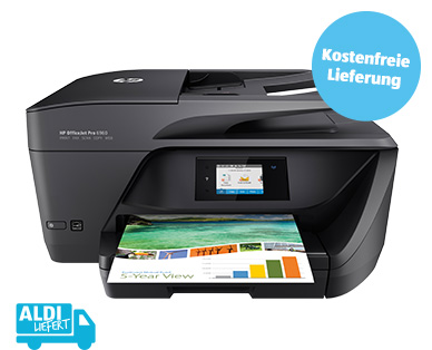 HP Officejet Pro 6960 All-in-One Drucker im Aldi Süd Angebot ab 6.6.2019