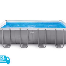Intex Frame Pool Set Ultra Quadra im Hofer Angebot ab 2.5.2019