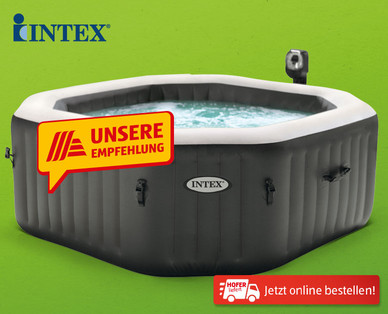 Intex Spa Pool Deluxe im Hofer Angebot