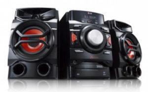 LG CM4350 High-Power HiFi-Anlage