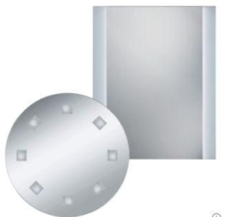 LightZone Beleuchteter Spiegel erhältlich bei Aldi Nord ab 17.5.2018 – KW 20