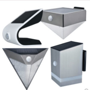 LightZone Solar-LED-Wandleuchte