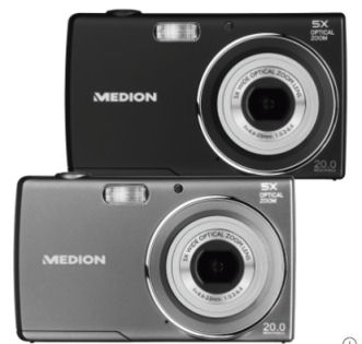 Aldi Nord: Medion Life E44007 20-Megapixel Digitalkamera im Angebot ab 26.4.2018
