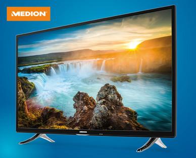 Hofer 3.5.2018: Medion Life X15503 MD32031 55-Zoll Ultra-HD Smart-TV Fernseher im Angebot