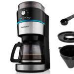 Silvercrest SKML 1000 A1 Kaffeemaschine LED mit Mahlwerk erhältlich bei Lidl Online