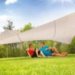 Solax-Sunshine Sonnensegel-Komplett-Set im Angebot bei Norma 11.5.2020 - KW 20