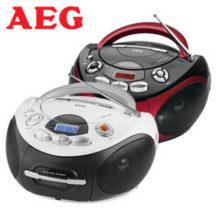 Real | SR 4353 Stereo-CD-Radio von AEG für 39,95€ im Angebot
