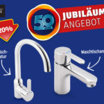 Hofer 4.6.2018: Bad und Küchenarmatur als Jubiläums-Angebot im Angebot