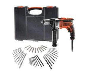 Black Decker Schlagbohrmaschine 850 Watt