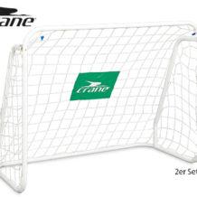 Crane 2 Fußballtore mit Netz im Aldi Süd Angebot ab 20.5.2019