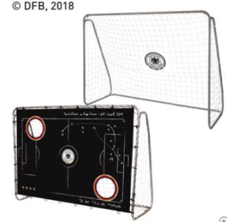 dfb fu balltor mit torwand im aldi nord angebot kw 22 ab 30 31. Black Bedroom Furniture Sets. Home Design Ideas