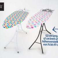 Hofer 13.5.2019: EasyHome Komfort-Bügeltisch im Angebot
