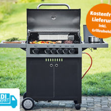 Enders Boston Black 4 IK Gasgrill: Aldi Süd Angebot ab 15.12.2018 - KW 50