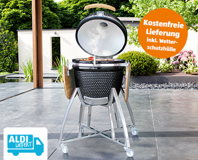 Photo of Aldi 8.4.2020: FireKing Kamado L Holzkohlegrill im Angebot