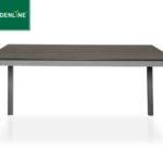 Gardenline Alu-Gartentisch mit Kunststoffplatte in Holz-Optik im Angebot bei Aldi Süd ab 17.5.2018 – KW 20