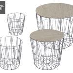 Living Style 4 Design-Drahtkörbe im Aldi Süd Angebot ab 16.5.2019