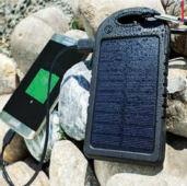 LogiLink 5000 mAh Solar-Powerbank