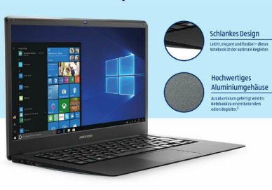 Photo of Aldi Süd 13.12.2018: Medion Akoya E4254 14-Zoll Notebook im Angebot