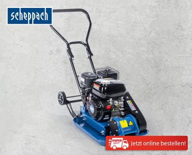 Hofer: Scheppach HP1300S Rüttelplatte im Angebot ab 4.6.2018