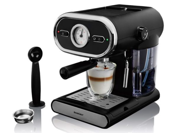 Silvercrest Espressomaschine SEM 1100 B3 als Mai Highlight bei Lidl ab sofort erhältlich