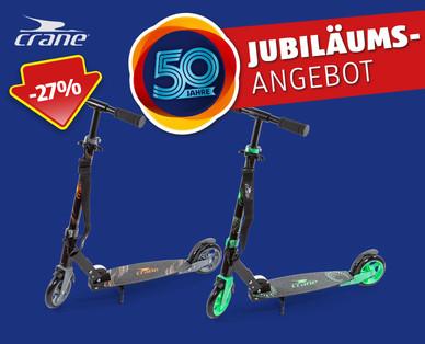 Crane Alu-Scooter als 50 Jahre Jubiläums Angebot bei Hofer ab 28.6.2018 – KW 26