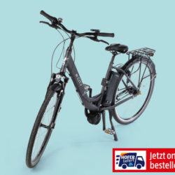 Hofer 21.3.2019: E-Bike 28-Zoll mit Mittelmotor im Angebot