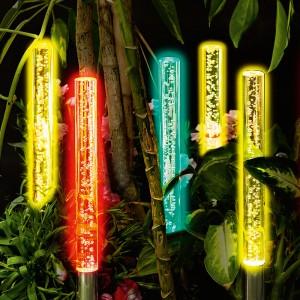 i-Glow Solar-Garten-Sticks 5er-Set im Angebot bei Norma 23.3.2020 - KW 13