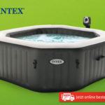 Hofer 2.4.2020: Intex Spa Pool Jet & Bubble Deluxe im Angebot