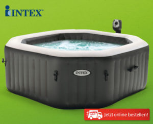 Intex PureSpa Jet und Bubble Deluxe Pool