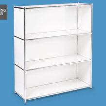 Living Style Metallregal: Hofer Angebot - Schnell zugreifen