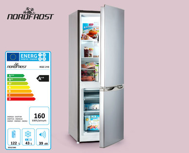 Mini Kühlschrank Hofer 2018 : Retro kühlschrank hofer quigg kühl gefrierkombination von aldi