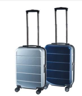 Aldi: Royal Life Trolley Boardcase in Metallic-Optik im Angebot ab 14.6.2018