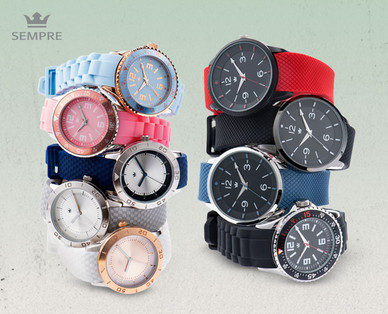 Sempre Colour Watch Armbanduhren