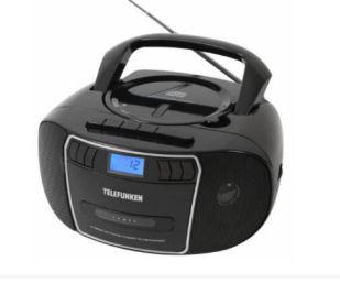 Real: Telefunken RCC1000 Stereo-CD-Radio im Angebot ab 11.6.2018