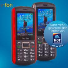 Hofer 2.8.2018: BeaFon AL560 Mobiltelefon im Angebot