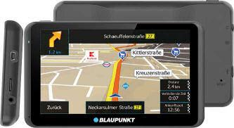 Blaupunkt TP 63 Gamma CE LMU Navigationssystem ab 26.9.2019 bei Kaufland