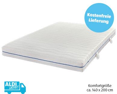 Dormia Komfort-Taschenfederkernmatratze im Aldi Süd Angebot 29.7.2019 | KW 31