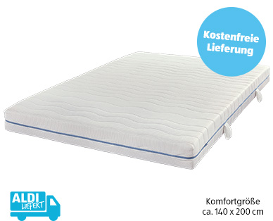 Dormia Komfort-Taschenfederkernmatratze