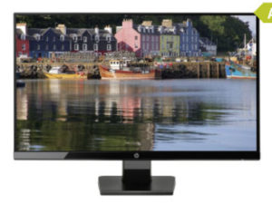 HP 27w Monitor Real 23.9.2019