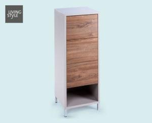 Living Style Badezimmer-Seitenschrank