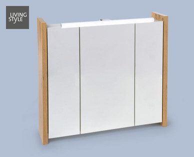Living Style Badezimmer-Spiegelschrank im Hofer Angebot ab 18.7.2019