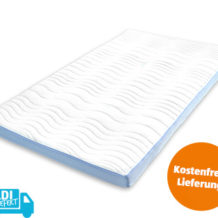 Matratzen-Topper Komfortgröße Premium 140 x 200 im Angebot bei Aldi Süd 30.7.2018 - KW 31