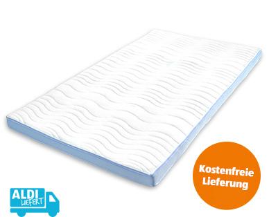 Matratzen-Topper Komfortgröße Premium 140 x 200 im Aldi Süd Angebot ab 30.7.2018 – KW 31